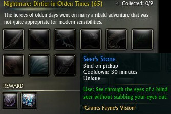 Seer's Stone from Artifact Vendor